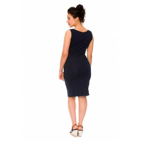 2-dielne tehotenské/dojčiace šaty Sia - granát, vel´. L