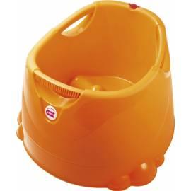 Vanička do sprchovacieho kúta Opla oranžová 45