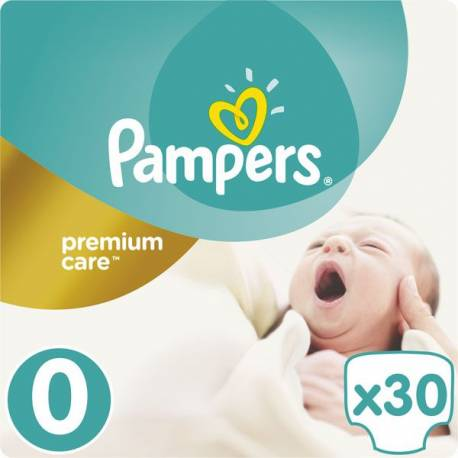 Plienky Premium Care 0 NEWBORN do 2,5kg 30ks Pampers