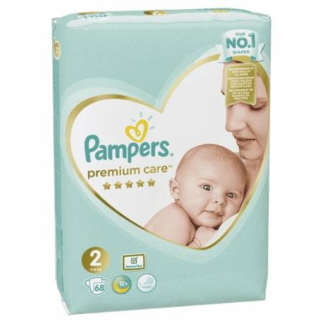Plienky Premium Care 2 MINI 3-6kg 68 ks Pampers