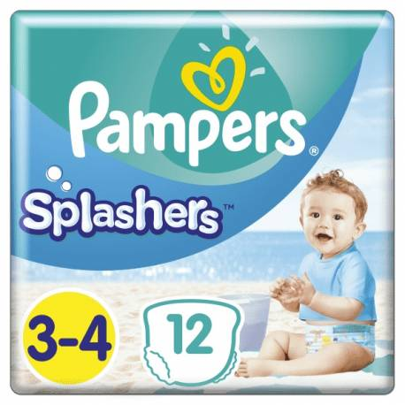 Plienky do vody Splashers 6-11kg 12ks Pampers