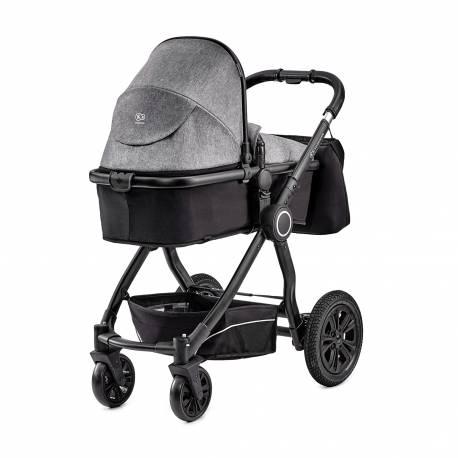 Kočík kombinovaný Veo black/grey 3v1 Kinderkraft 2019
