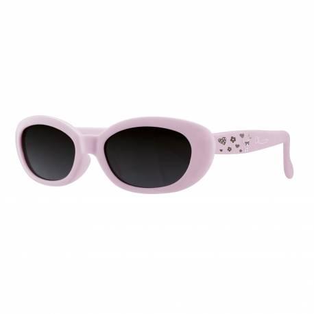 Okuliare slnečné dievča bl. ružové 0M+