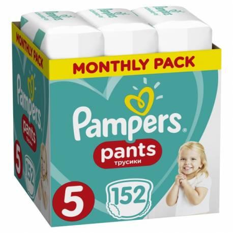 Mesačná zásoba plienkových nohavičiek ActivePants 5 JUNIOR 12-17kg 152ks Pampers