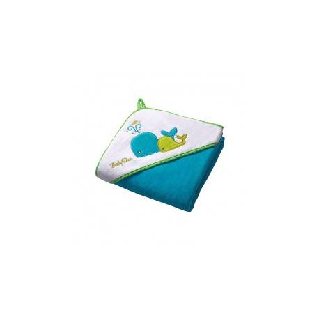 Osuška s kapucňou Velour 100x100 - blue