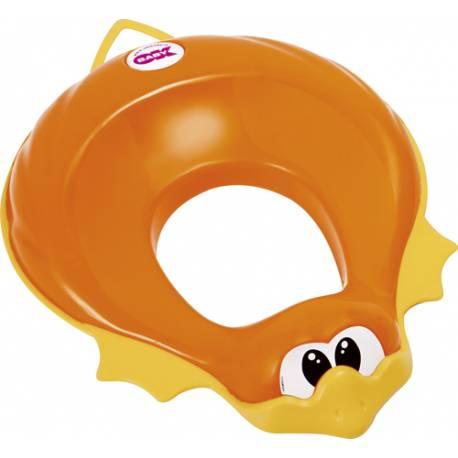Redukcia na WC Ducka oranžová 45