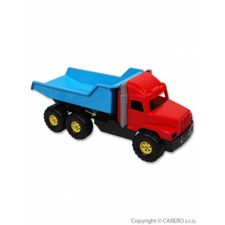 Hračka do písku - Náklaďák modro-červený