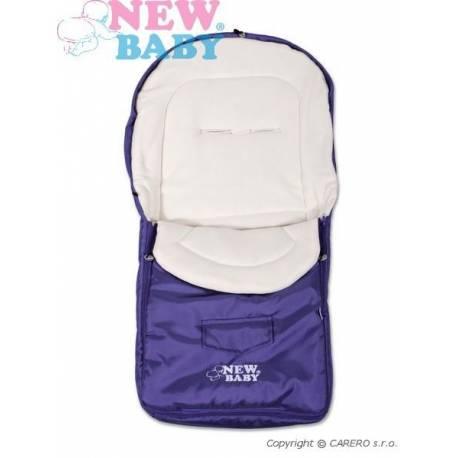 Zimní fusák New Baby Classic Fleece violet