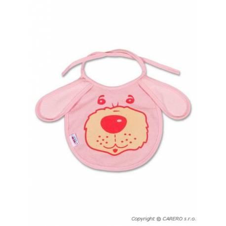 Dětský bryndák New Baby růžový