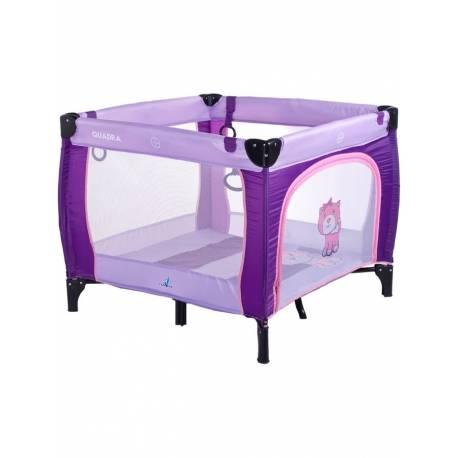 Dětská skládací ohrádka CARETERO Quadra purple