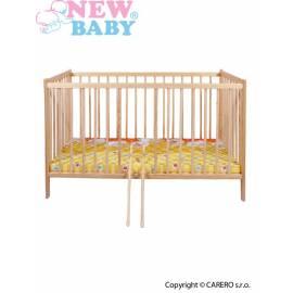 Dětská borovicová postýlka New Baby Dominic - přírodní