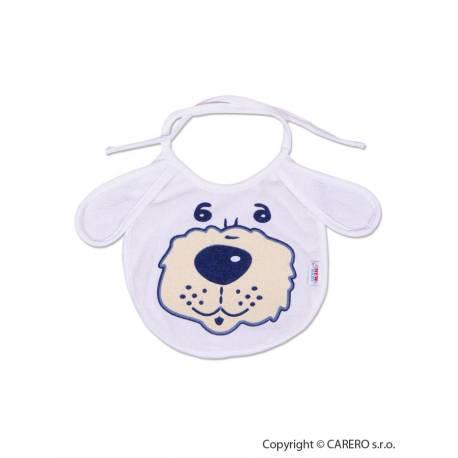 Dětský bryndák New Baby bílo-modrý