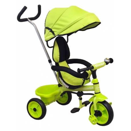 Dětská tříkolka Baby Mix Ecotrike green