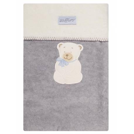 Dětská deka Womar 100x150 šedá