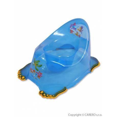 Dětský nočník protiskluzový aqua modrý