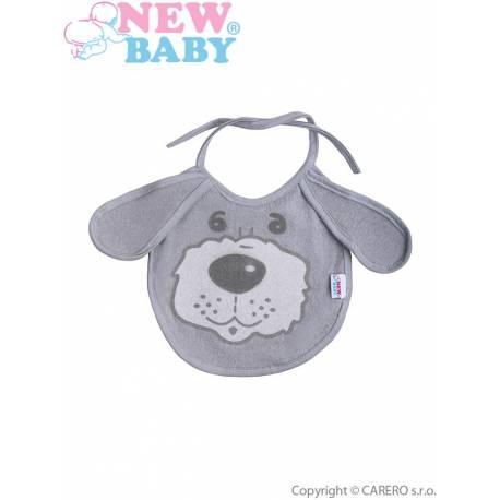 Dětský bryndák New Baby šedý