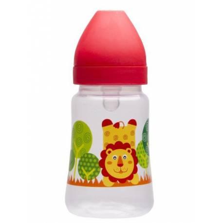 Láhev s širokým hrdlem Akuku 250 ml červená