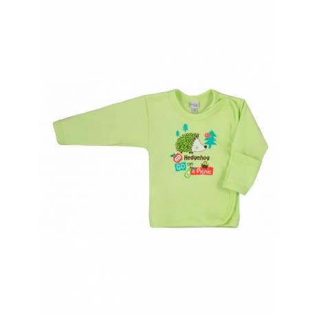 Kojenecká košilka Bobas Fashion Ježek zelená