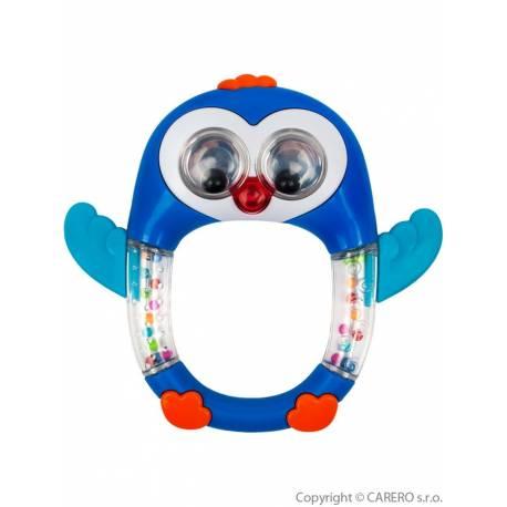 Dětské chrastítko se zvukem Baby Mix Tučňák