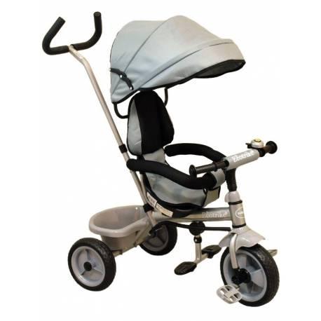 Dětská tříkolka Baby Mix Ecotrike grey
