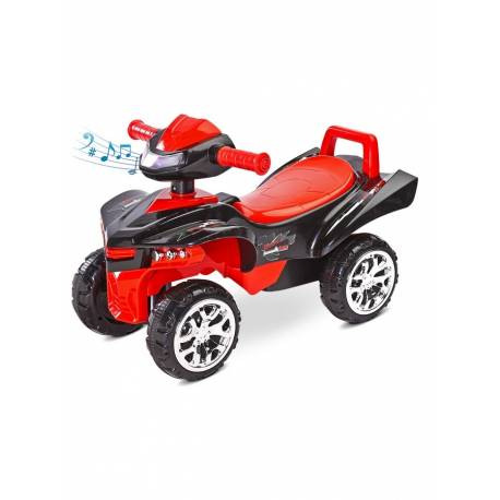 Odrážedlo čtyřkolka Toyz miniRaptor červené