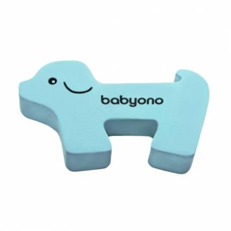 Zarážka na dveře Baby Ono pejsek modrý