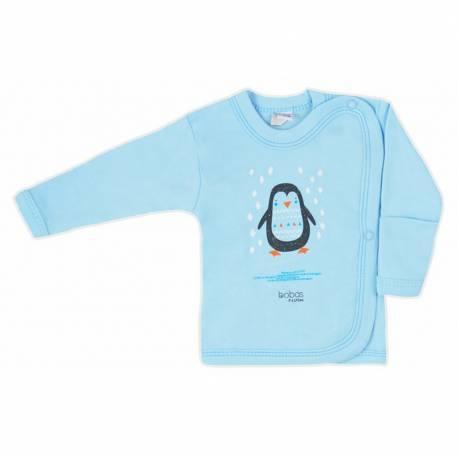 Kojenecká košilka Bobas Fashion Mini Baby tyrkysová