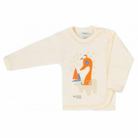 Kojenecká košilka Bobas Fashion Mini Baby smetanová