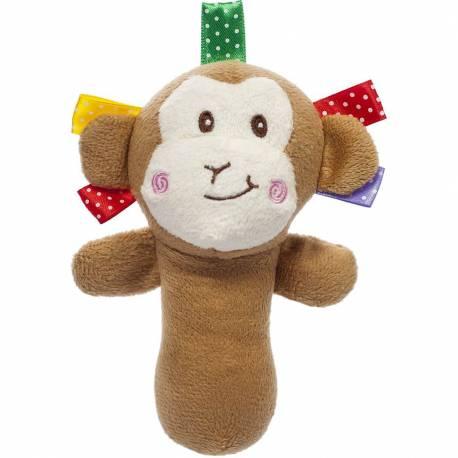Plyšová hračka s pískátkem Akuku opice