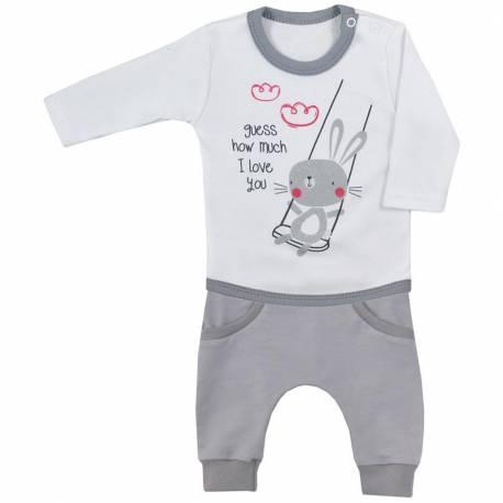 2-dílná kojenecká souprava Koala Swing bílá