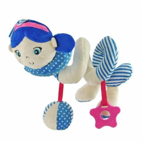 Hračka na postýlku Spirála Baby Mix námořník holka blue