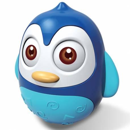 Kývací hračka Baby Mix tučnák blue
