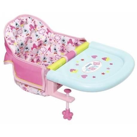 Baby Born jedálenská stolička
