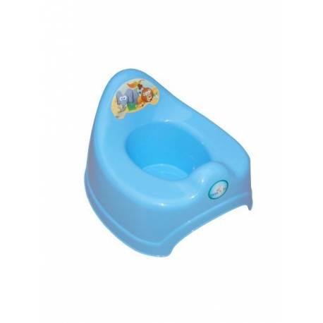 Dětský nočník Safari modrý