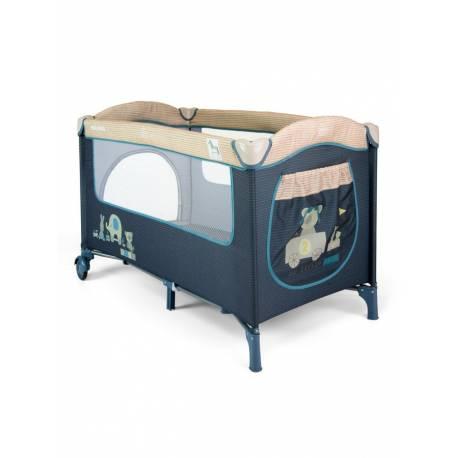 Cestovní postýlka Milly Mally Mirage blue toys
