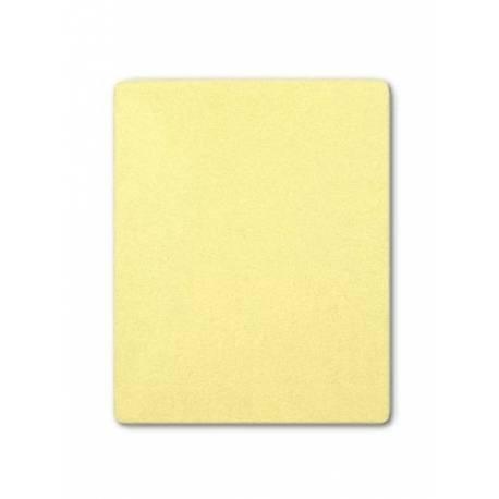 Froté prostěradlo Akuku 120x60 žluté