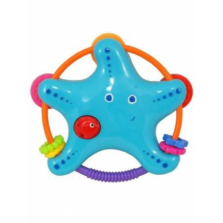 Chrastítko Baby Mix Hvězdička modrá