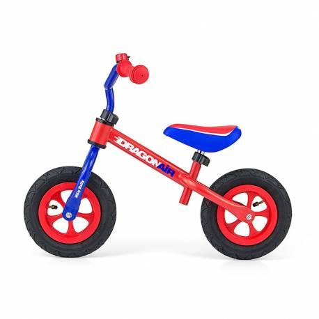 Dětské odrážedlo kolo Milly Mally Dragon Air red-blue