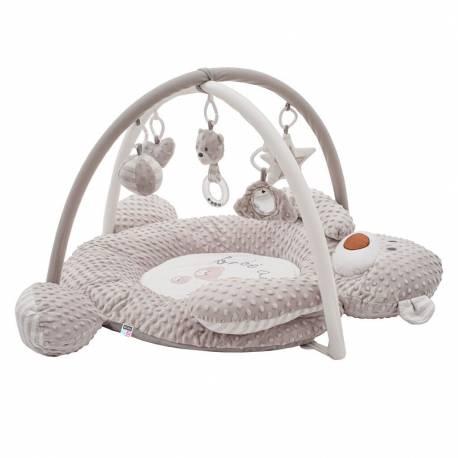 Luxusní hrací deka z minky s melodií PlayTo medvídek