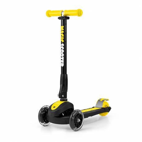 Dětská koloběžka Milly Mally Magic Scooter yellow