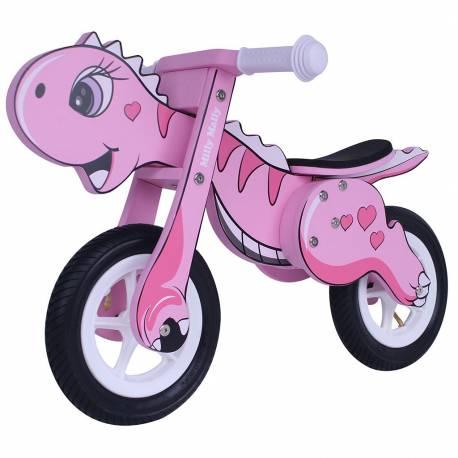 Dětské odrážedlo kolo Milly Mally DINO Mini pink