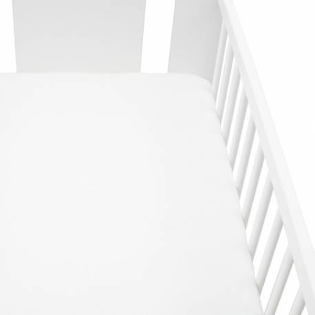 Jersey prostěradlo do postýlky New Baby 120x60 bílé