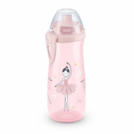 Dětská láhev NUK Sports Cup 450 ml růžová
