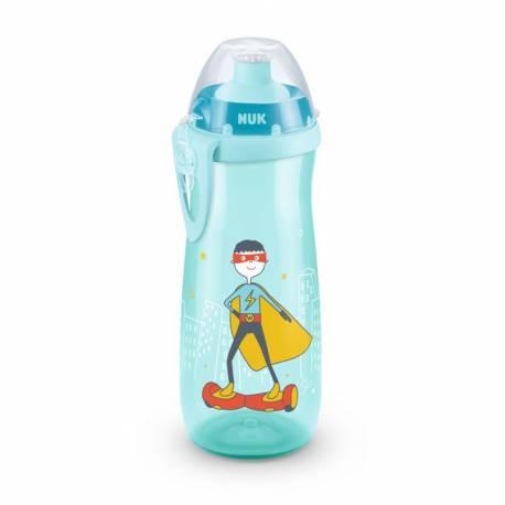 Dětská láhev NUK Sports Cup 450 ml tyrkysová