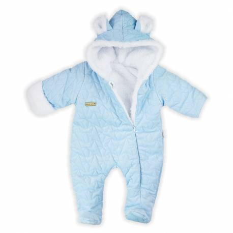 Zimní kojenecký overal Nicol Kids Winter modrý
