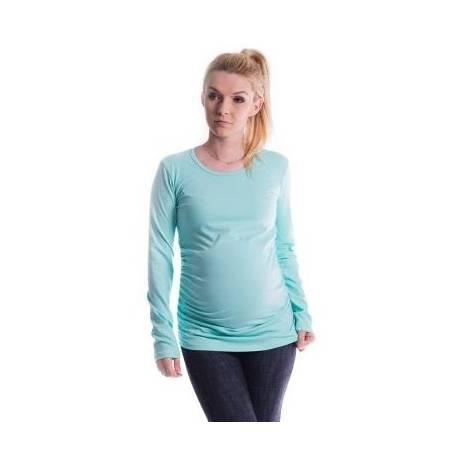 Be MaaMaa Tehotenské tričko ELLIS - mäta