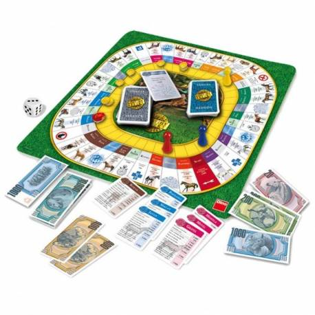 Dostihy a stávky NOVÉ spoločenská hra v krabici 29,5x29,5x7cm