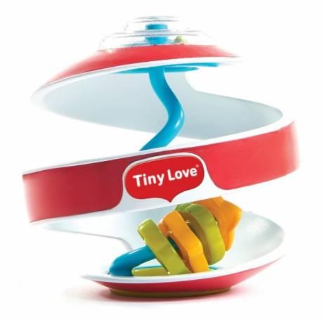 Tiny Love Senzorická špirálka Inspiral Labyrint - červená