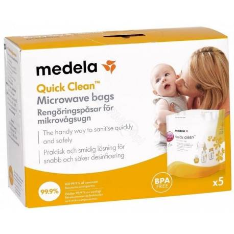 Medela Sterilizačné sáčky - 5ks