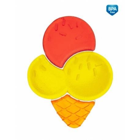 Canpol babies Hryzátko vodné zmrzlina - žlto/červená